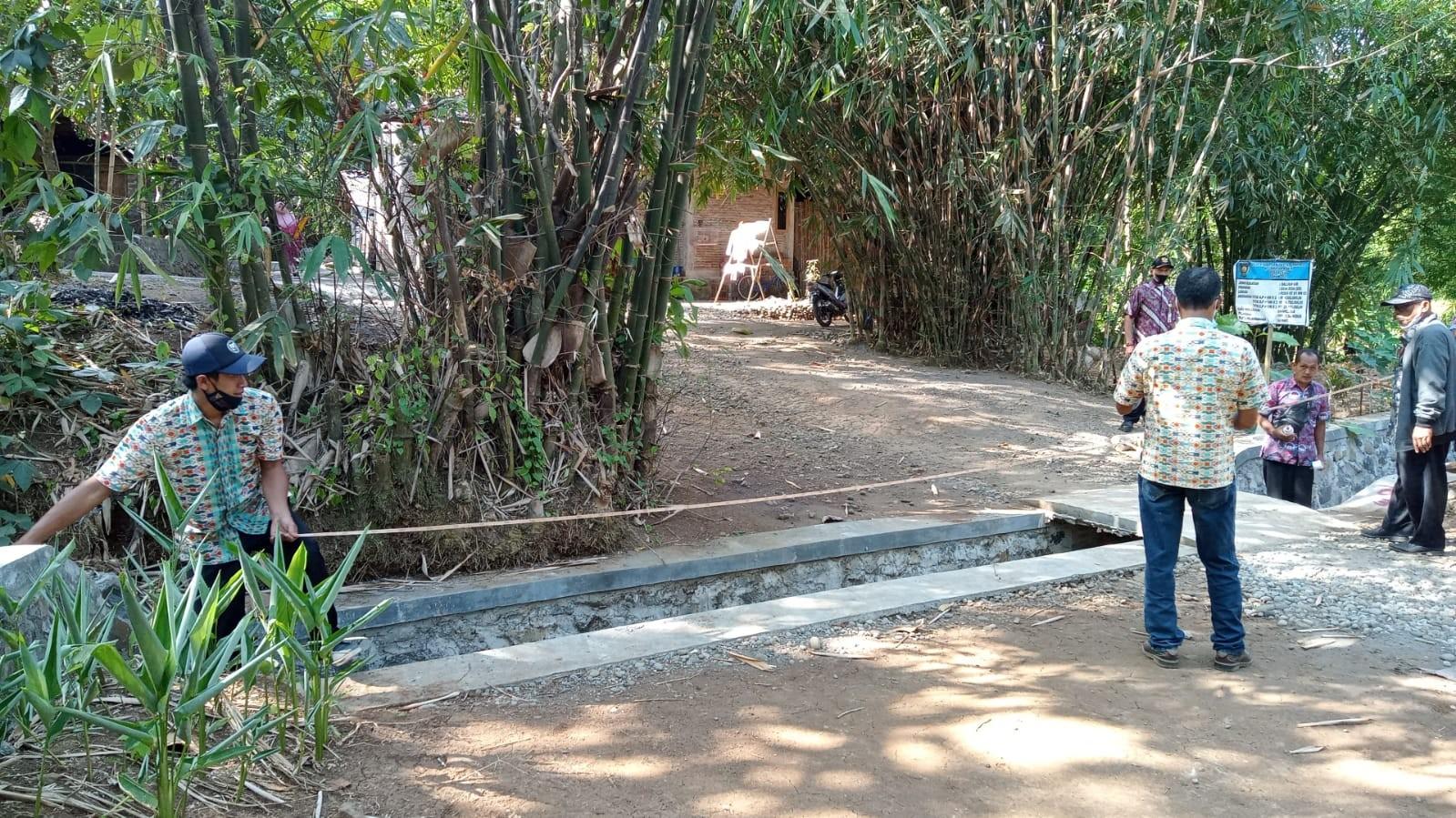 Monitoring DD Tahap I Tahun 2021 Desa Rebug