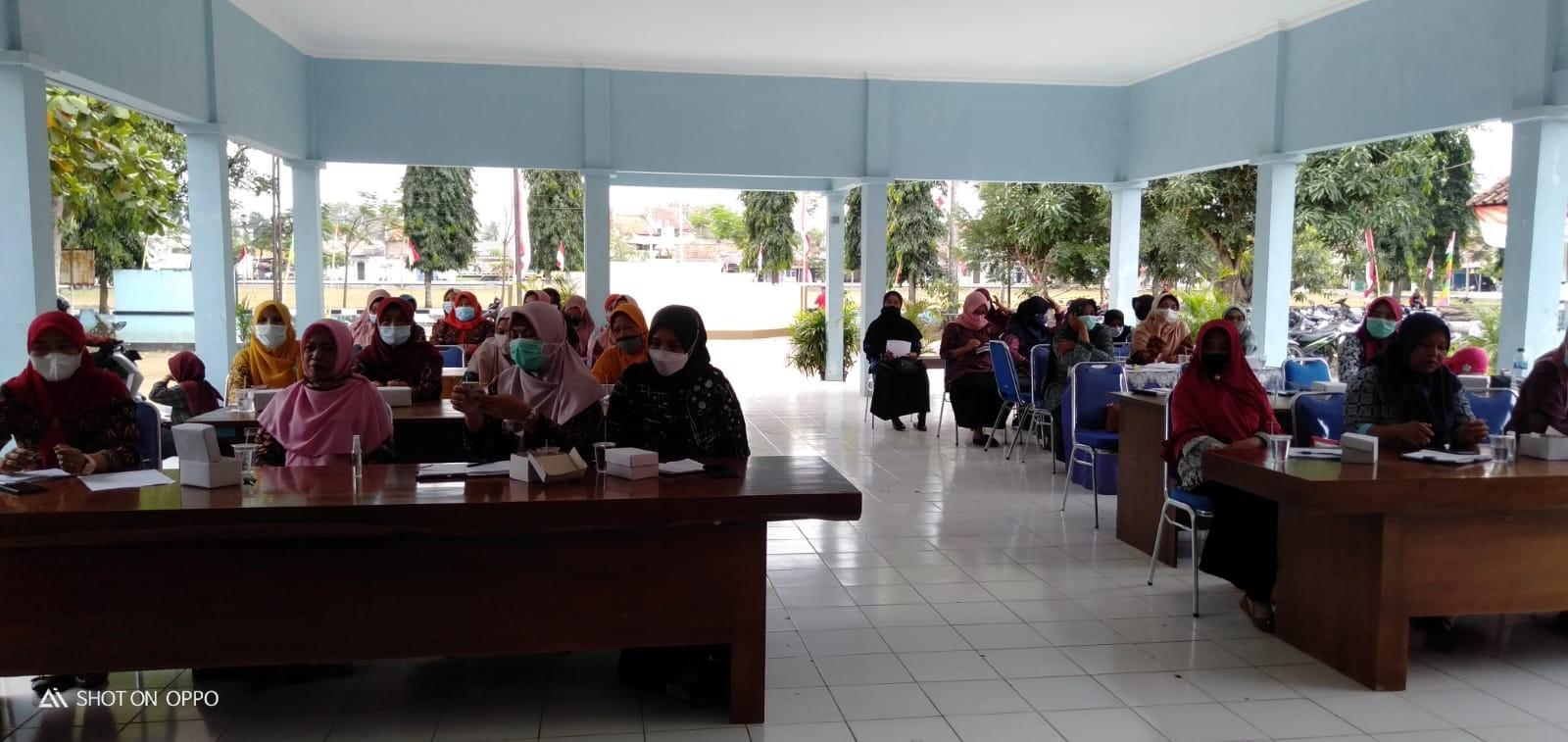 Pertemuan Rutin PKK Kecamatan Kemiri Bulan Agustus 2021
