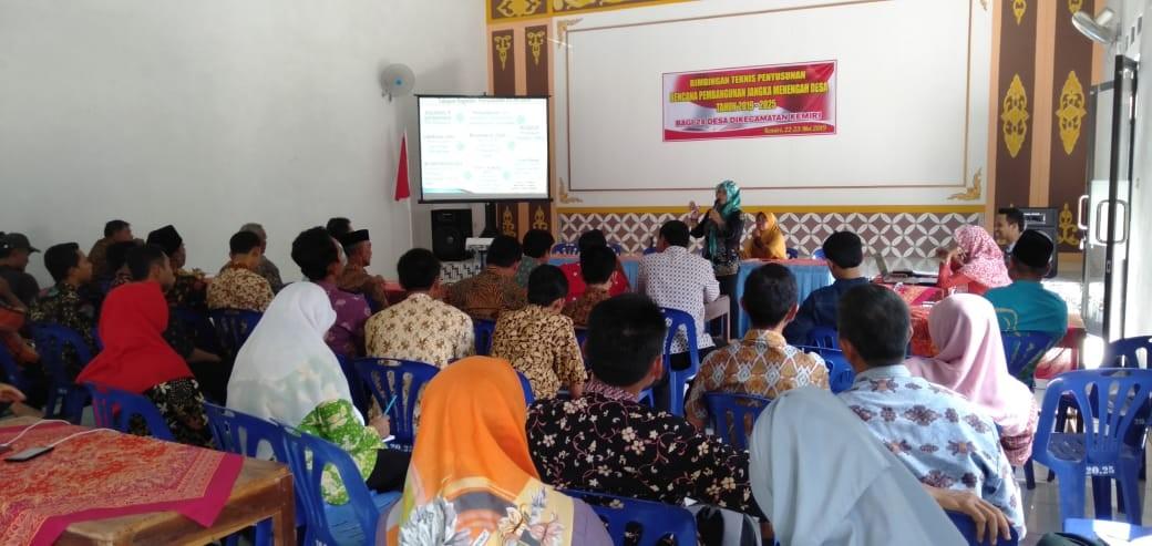 Bintek Penyusunan Rencana Pembangunan Jangka Menengah Desa (RPJMDes) Tahun 2019